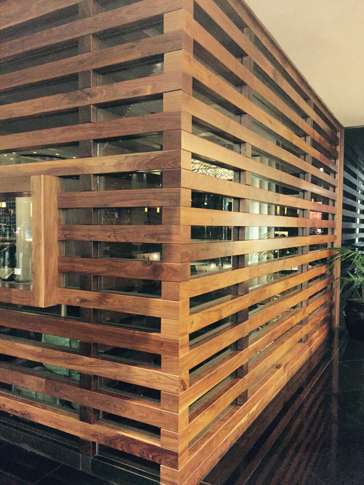 Project 8, Atrium & riverwalk: simple but beautiful timber and glass walls make a warm entryway to this restaurant