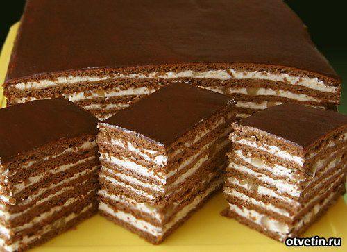 Рецепты вкусных тортов с фотками