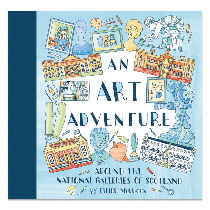 An Art Adventure Colouring Book published by NGS Publishing