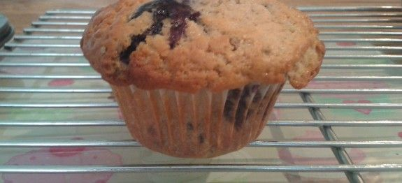 Blueberry & Raspberry Muffin