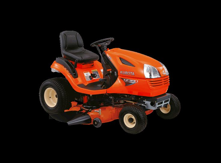 This month we're shining the spotlight on the Kubota T2380 mower, pictured here.