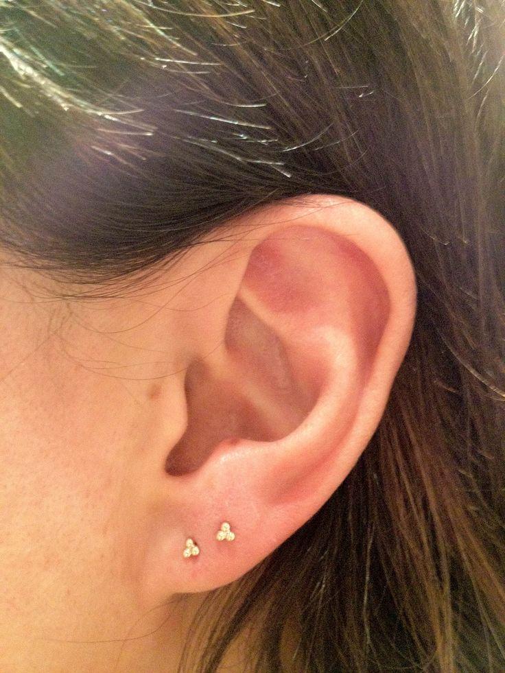 25 best ideas about lobe piercing on