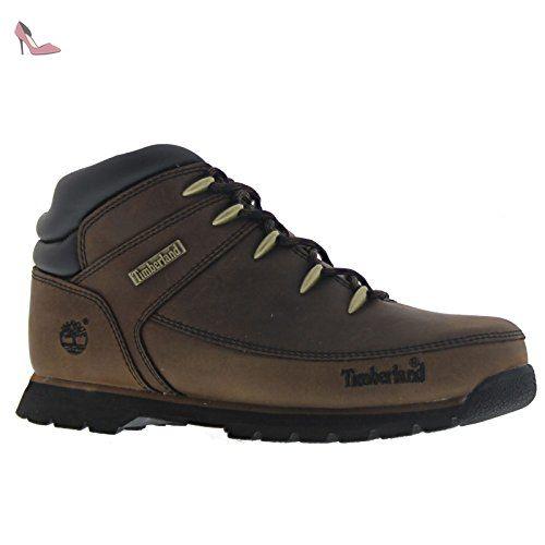 Timberland Junior Dark Marron Euro Sprint Hiker Bottes-UK 4.5 - Chaussures timberland (*Partner-Link)