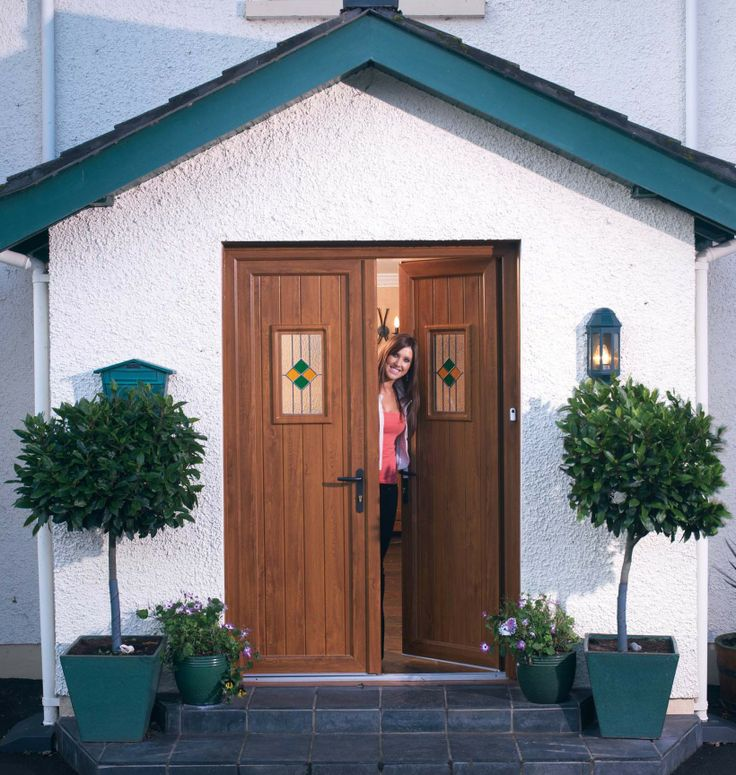 With our extensive range of PVCu doors, there is no need to compromise on style or quality. #panelled, #halfglazed or #fullyglazed, with #patterned, #stained, #bevelled or #frostedglass