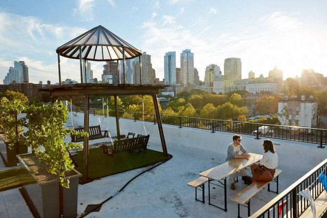 The World S First Rooftop Vineyard Thrives In Nyc Rooftop Bars Nyc Best Rooftop Bars Nyc New York Rooftop