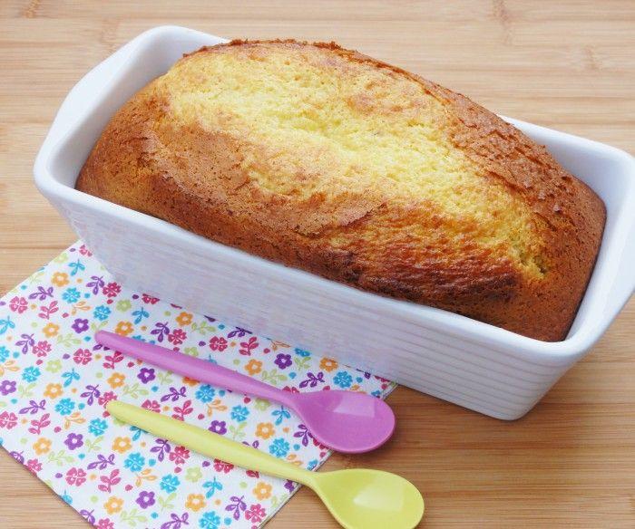 Cake au lait concentre sucre