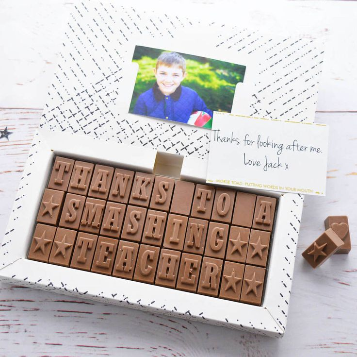 Are you interested in our personalised chocolate? With our chocolate card you need look no further.