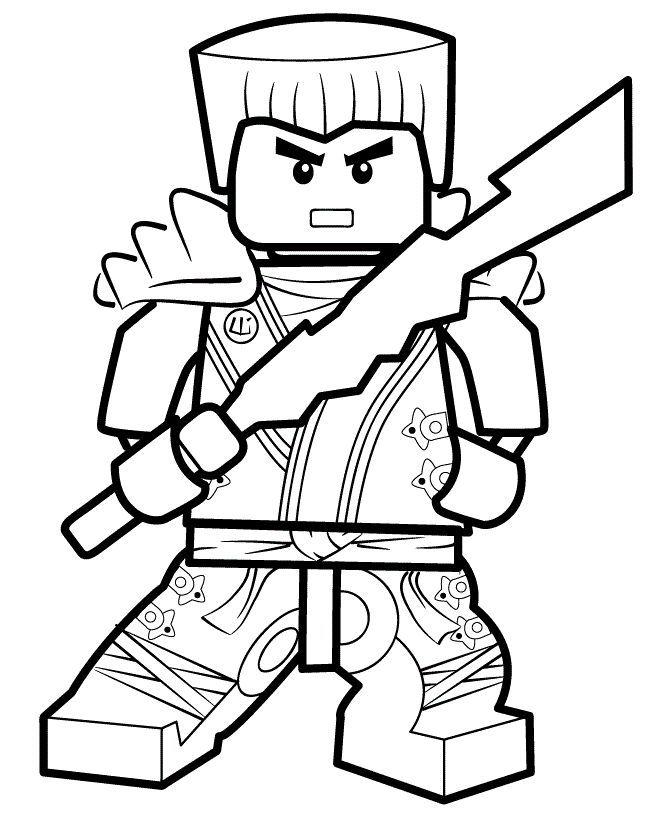 Malvorlage Und Zeichnung Von Ninjago Zum Ausdrucken Malvorlage Des Weissen Ninja Ninjago Malvorlage Ninjago Ausmalbilder Ausmalbilder