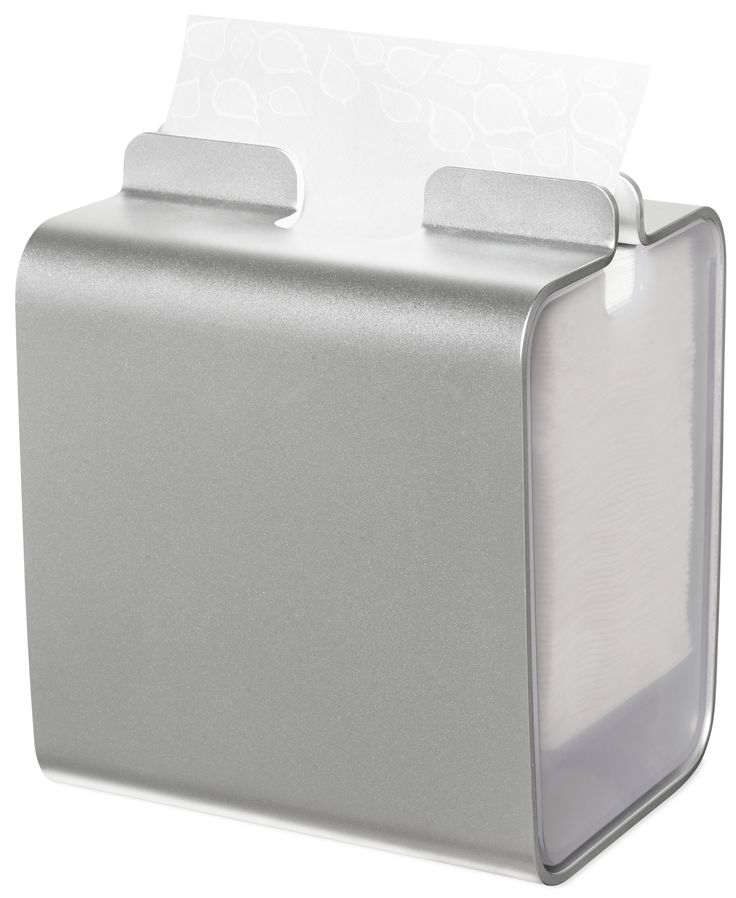 Tork Xpressnap® Napkin Dispenser - Aluminium: Tork Xpressnap® Image complements your business and tells customers you care about their experience. (System: N4 - Interfolded napkin system; Material: Aluminium; Height: 209 mm, Width: 178 mm, Depth: 150 mm; Color: Aluminium) Get more information about this product at: http://bimobject.com/en/sca-eu/product/274002/sca-tork-eu