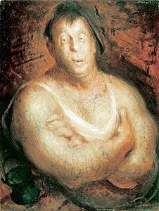 The Billy Boy 1943 Sir William Dobell (Joe Westcott, painted at the Rathmines Air Base NSW)