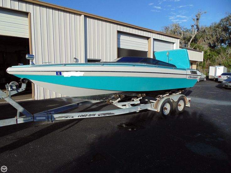 1989 24' Used Checkmate Enforcer High Performance Boat For Sale - $7,000…