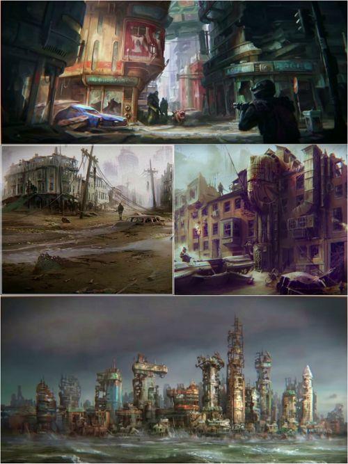 Fallout 4 concept art #fallout4 #gaming #conceptart