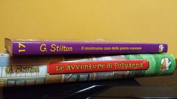 """""""Il mostruoso caso delle piante mannare"""" e """"Le avventure di Pollyanna"""""""
