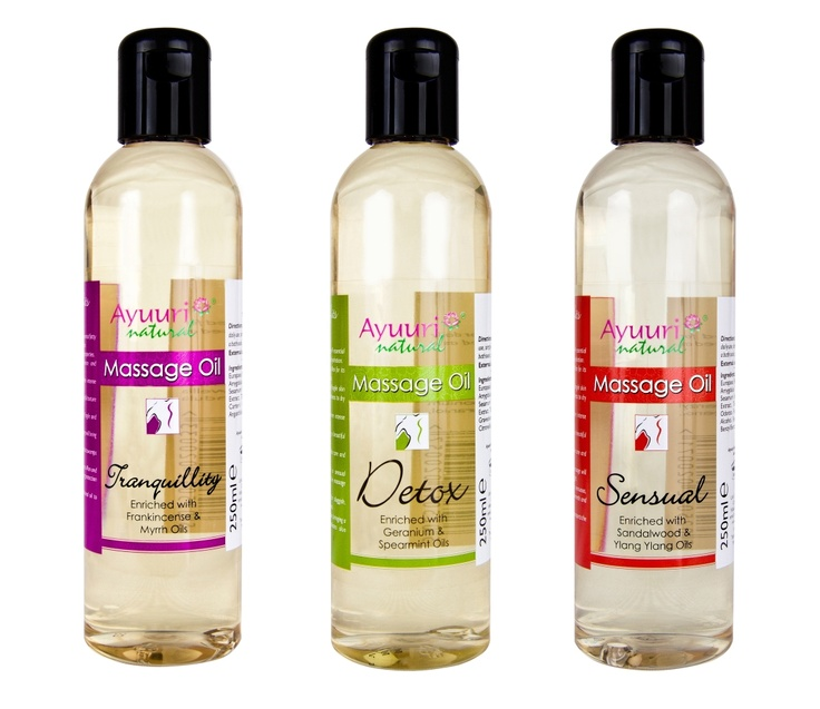 Massage Oil Collection