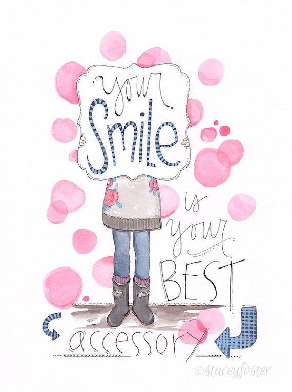 Teen art - Tween art - Girls encouraging art - Stacey Foster paintings www.onetinybutterfly.etsy.com