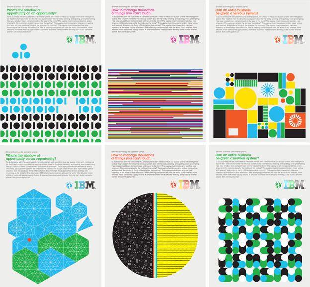 Graphic IBM Posters - AnotherDesignBlog.