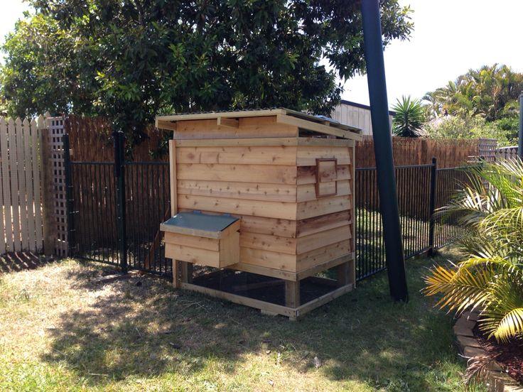 Chicken Coop - 'Chalet' Style. DIY Chicken House.