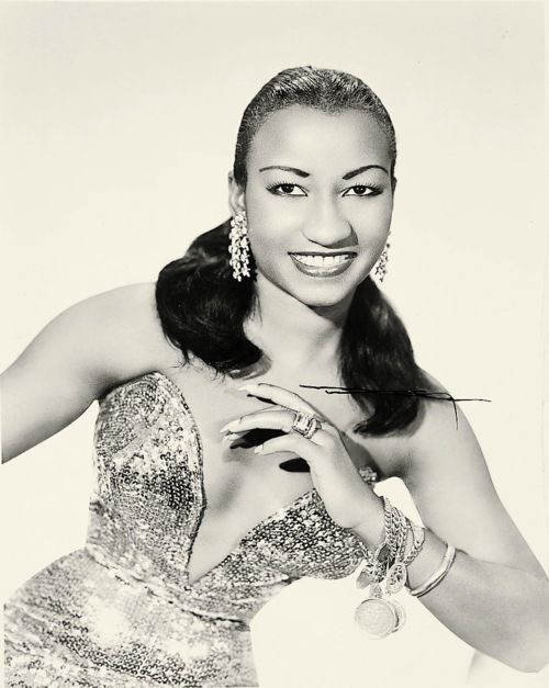 The one and only Celia Cruz~~ Queen of salsa azucar!!!