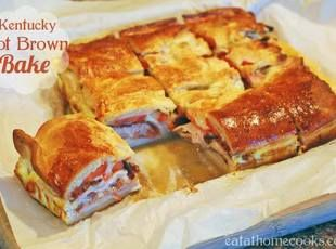 Kentucky Hot Brown Bake... Just made this and it was yummy.  Next time, I will add more cheese