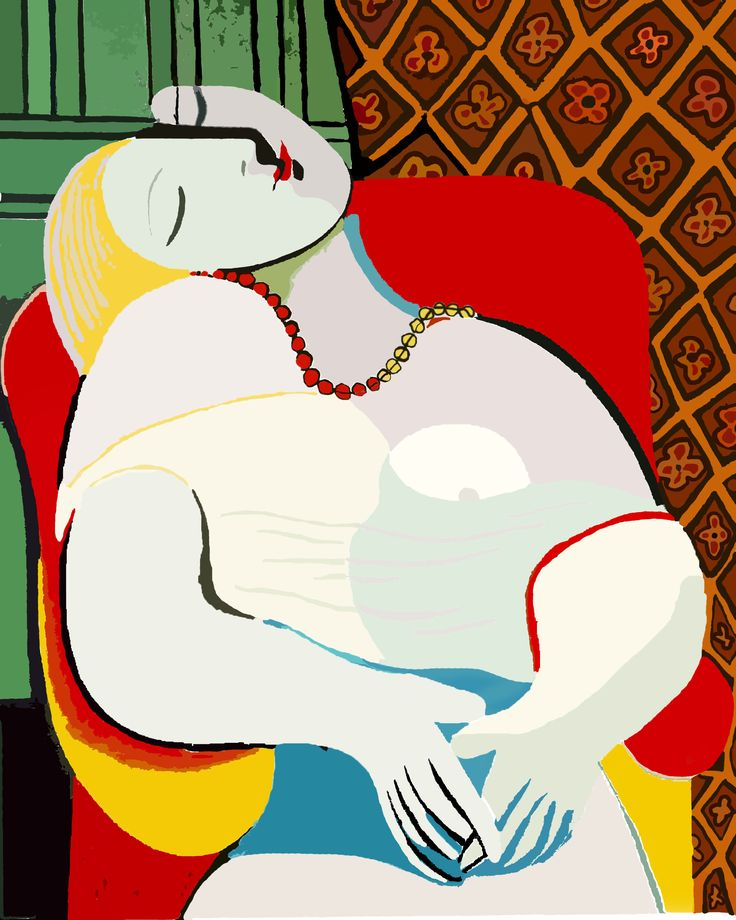 7 Le rêve, Picasso 1932, MJ Media