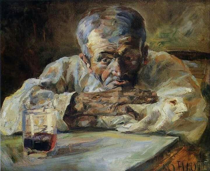 Henri de Toulouse-Lautrec - La buveur