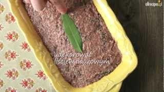 Pasztet z wątróbki drobiowej ze smardzami - Allrecipes.pl, via YouTube.
