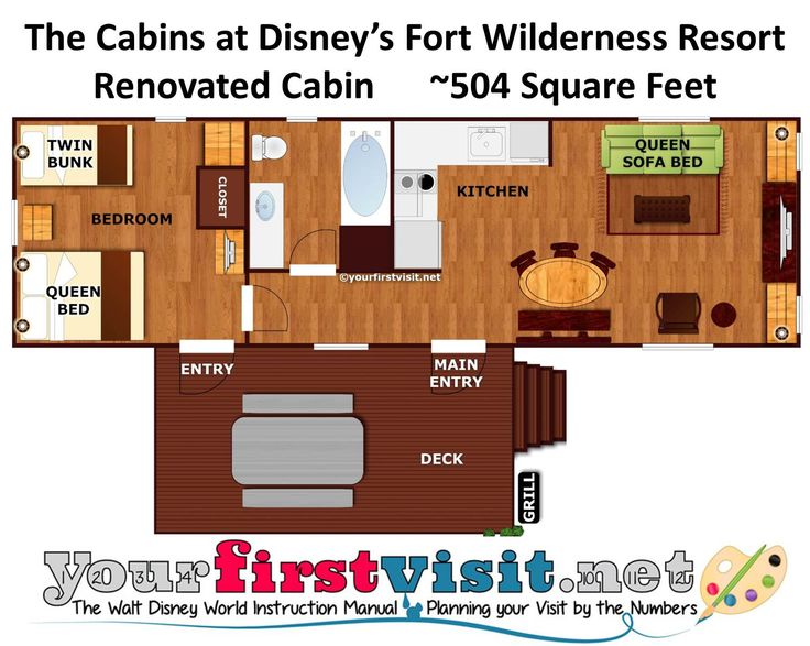 17 best images about disney 39 s fort wilderness resort for Wilderness cabin plans