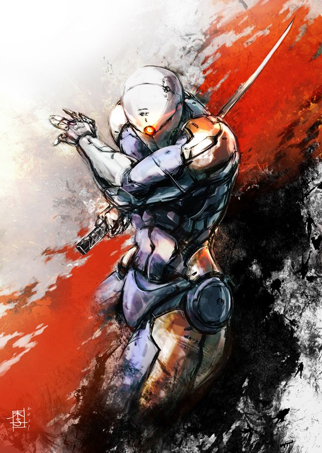Gray Fox (MGS)...when I first played MGS1, this guy made Otacon pee his pants in fear, and made me pee my pants in awesomeness.