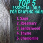 How to Use Essential Oils for Gray Hair