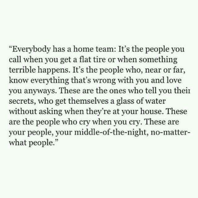 Your tribe.