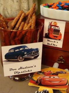 Maid Marian Made: Made ~ Lightning McQueen Birthday Party