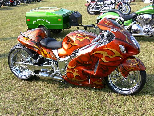 Custom Crotch Rocket