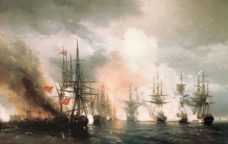 photo of the day | Russian Navy » History of the Sailing Warship in the Marine Art: