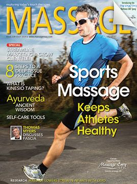 Be on the lookout for our July issue featuring sports massage! And check out our online exclusives at http://massagemagazine.com/current-issue/
