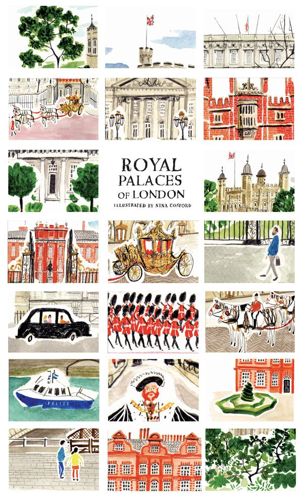 royal palaces of London (via @Lauren Knight)