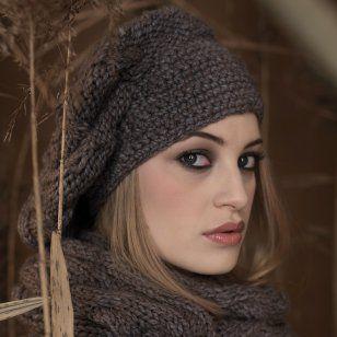 photo tricot modele tricot gratuit beret femme