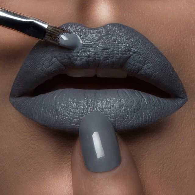 Today's #LipOfTheDay combines 'Tarred' & 'Feathered' #LipTar to match 'Dangerous' #OCCNailLacquer.