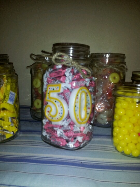 Pink lemonade centerpiece for treat table my parties and