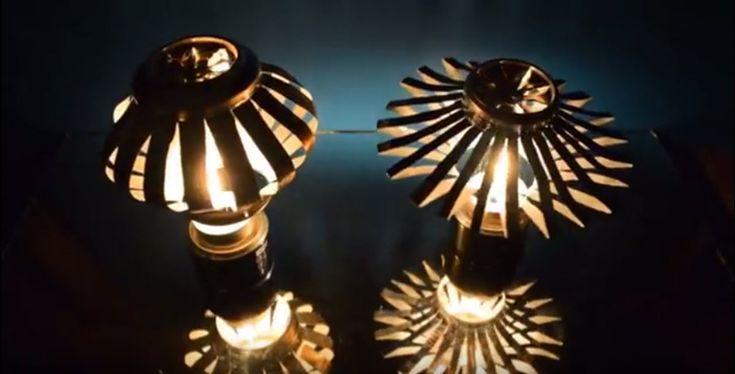 Si se te dan bien y te gustan las manualidades, hoy vamos a hablar sobre algunas ideas perfectas para hacer una lámpara DIY ¡muy originales!