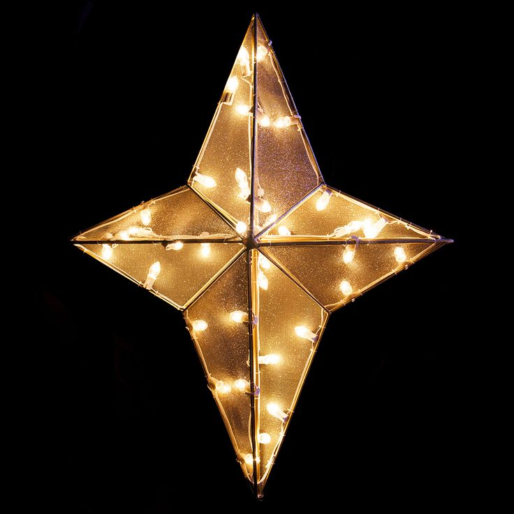 Christmas Star Lights Outdoor Part - 30: Outdoor Christmas Star Light | Nativity Christmas Lighted Outdoor  Decorations Scenes Are