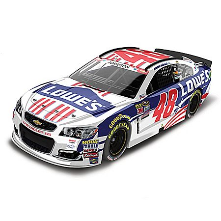 Jimmie Johnson No. 48 Lowe's Power Of Pride 2016 1:24-Scale Diecast Car