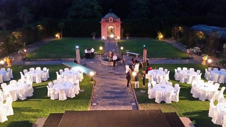 """Uno Splendido Allestimento a """"Villa Signorini"""" dopo una Notte di Festa!!!"""