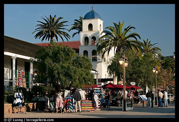 Historic Old Town, San Diego: Some of best Mexican food you can find.
