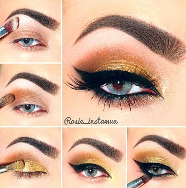 25 best ideas about eye makeup steps on pinterest