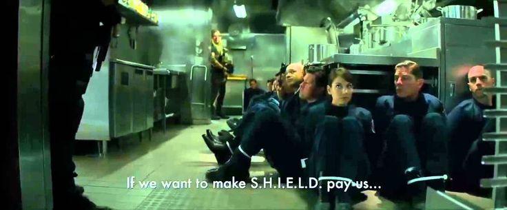 Kaptan Amerika: Kış Askeri Klip 1 (Türkçe Dublaj) [HD720p]