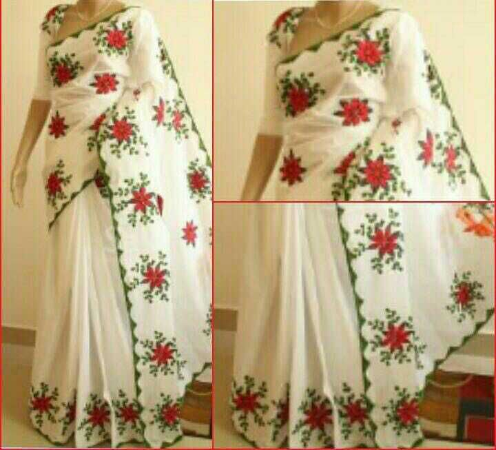 Kota Supernet is one of the best mesh fabrics having a more graceful and dignified look. This fabric is made of pure cotton and it's beauty is intensified with Aari handwork, using quality threads.