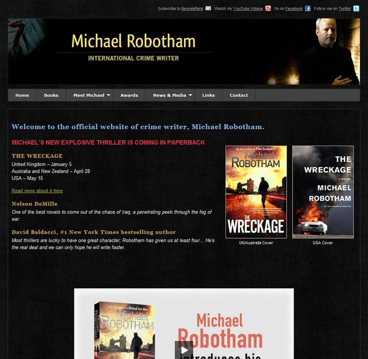 Michael Robotham's website.