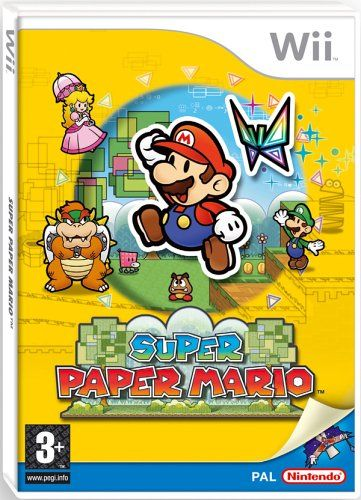 Super Paper Mario (Wii) - http://www.cheaptohome.co.uk/super-paper-mario-wii/  Super Paper Mario (Wii) Short Description Prepare to enter a whole new dimension with Super Paper Mario on Wii! The planet's favourite plumber returns in the third Paper Mario game, bringing a different perspective to the series as he calls on old friends – and foes – to help him tackle a mysterious enemy from a bizarre parallel universe. Lead Mario in his quest to overthrow the