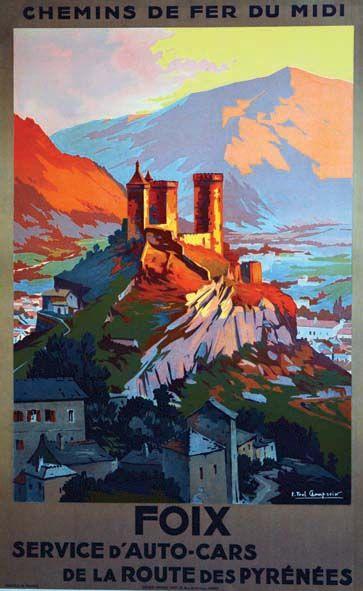 Foix vers 1930 Département de l'Ariège