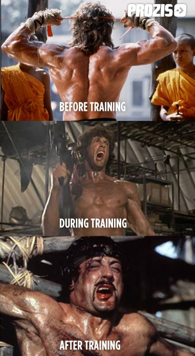 """One person to describe how I feel after completing a Shock Training workout is """"Rambo""""  Sylvester Stallone #motivation #inspiration #effort #overcoming Visit www.prozis.com for more information on bodybuilding and sports nutrition"""
